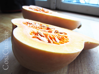 recette courge butternut