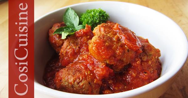 recette boulettes sauce tomate